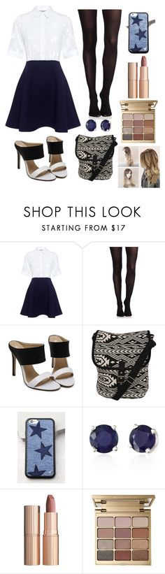 """""""Untitled #26"""" by xdhx16 ❤ liked on Polyvore featuring Paul & Joe Sister, SPANX, Pilot, Wildflower, Effy Jewelry, Charlotte Tilbury and Stila"""