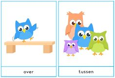 over - tussen Mamas And Papas, Vocabulary, Dutch, Kids Rugs, Education, School, Diy, Games, Dutch People