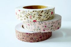floral washi tape // Gift Wrap So Pretty