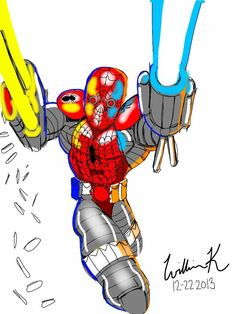 spider-man/superpatriot(image comics)