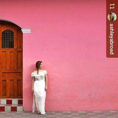 Follow @ashleyabroad: The #colors of #Granada #Nicaragua #ILoveGranada #AmoGranada #Travel