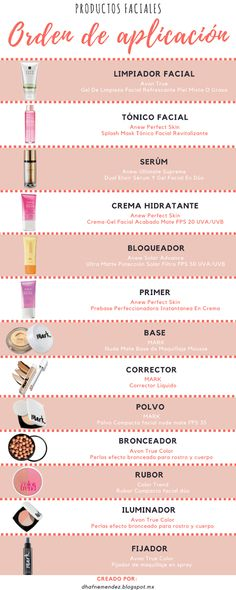 Para tener un buen cuidado facial aparte de saber cual es nuestro tipo de piel… To have a good facial care apart from knowing what our skin type is we must also know the correct order of how we should … Skin Care Masks, Face Skin Care, Diy Skin Care, Skin Tips, Skin Care Tips, Skin Structure, Body Makeup, Mo S, Facial Care