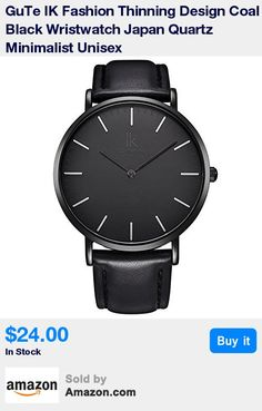 Genuine IK Morden Minimalist Designed Japan Quartz Wristwatch for Men *We're the Exclusive-Sales-Agent with the IK Colouring Brands Products on AMAZON!* * Super Thinning Watch Case 7.3mm * Succinct Coal-black Watch Dial & Hands. Silver Numerals * Thinning Round Case 40mm Dia. with Mineral Crystal. Match with Soft Black PU leather Strap * Water Resistant 3 ATM. Come with IK Fashion Watchbox with Simple Instruction. !Best Gifts!