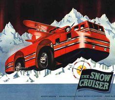 "1939 ""Big Bertha"" – Admiral Byrd's Monster Snow Cruiser | The Old Motor"