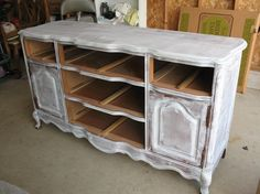 A Guide to Painting Furniture | The right way, I mean, not just slapping your wall paint on top of an unsanded table, like I have.
