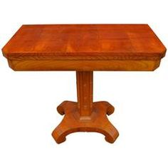 19th Century, Swedish Occasional Game Table