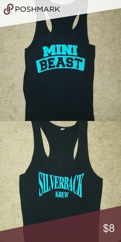 MINI BEAST tank top. Rock your beast side with this cute MINI BEAST tank top by Silverback krew.. Silverback Krew Tops Muscle Tees