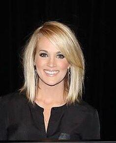 Haircuts Trends Carrie Underwood hair Discovred by : Beaded & Co. Medium Hair Styles, Short Hair Styles, Hair Medium, Shoulder Length Hair, Bob Hairstyles, Haircuts, Party Hairstyles, Latest Hairstyles, Wedding Hairstyles