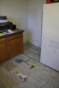 Kitchen Floor Makeover.