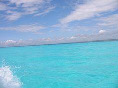 Some real blue water. Zanzibar.