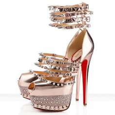 Christian Louboutin Isolde 160mm Peep Toe Pumps Gold Will Make You Be More And More Charming And Bring You The Infinite Self-Confidence.