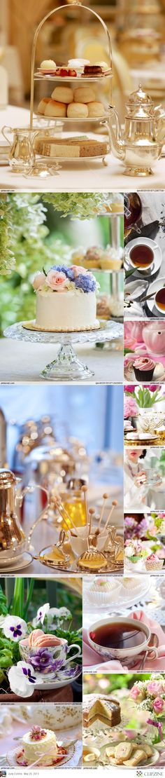 Multi-layered ideas, perfect for Afternoon Tea.