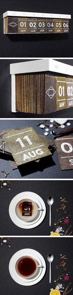 Calendar for tea lovers