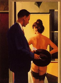 Jack Vettriano, OBE is a Scottish painter. His 1992 painting, The Singing Butler, became a best-selling image in Britain. For biographical notes -in english and italian- and other works by Vettriano see: Jack Vettriano, 1951 Jack Vettriano, Edward Hopper, The Singing Butler, Serpieri, Fabian Perez, Robert Mcginnis, Boris Vallejo, Illustration, Frank Frazetta