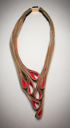 bijoux zipper - Google Search