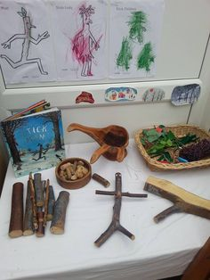 Retelling/Provocation for Book, Stick Man by Julia Donaldson (from Worm's Eye-View)