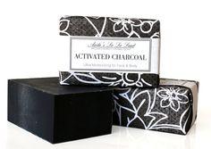 Activated Charcoal Detox Soap Big Bar por AnitasLaLaLand en Etsy