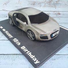 Audi R8 cake by Natasha Rice Cakes