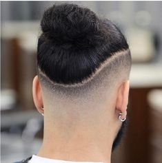 21 Trendy Ideas For Haircut Short Pixie Undercut Curly Hair Man Bun Haircut, Mens Braids Hairstyles, Cool Hairstyles For Men, Haircuts For Long Hair, Hairstyles Haircuts, Haircuts For Men, Short Hair Cuts, Haircut Short, Short Pixie