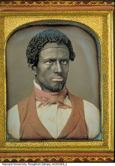 Unknown daguerreotypist, American. White Performer in Blackface, ca. 1850-1860. Collection of Harvard University.