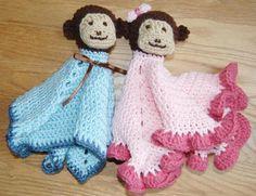 Monkey Lovey with Blanket Body | Craftsy