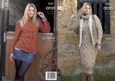 3332 | Knitting Pattern | Dress and Jackets