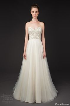 winnie couture 2014 blush label sydelle strapless wedding dress
