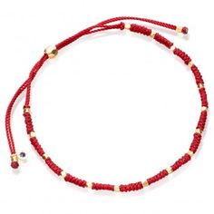 Shop our The Protection Bracelet Stack from British jewellery designer Astley Clarke. This adjustable gold bracelet stack includes a woven cord style and a Hamsa charm, Anklet Designs, Bracelet Designs, Beaded Jewelry, Jewelry Bracelets, Gold Jewelry, Diamond Bracelets, Red String Bracelet, Diy Bracelets With String, Garnet Bracelet