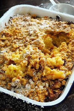 Mais pourquoi est-ce que je vous raconte ça... Dorian cuisine.com: Le vendredi c'est retour vers le futur… Le plus craquants et fondants des gâteaux aux pommes à l'irlandaise… et aussi le plus réconfortants !