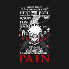Check out this awesome 'Naruto+Pain+Learn+Shirt+-+TP00264' design on @TeePublic!