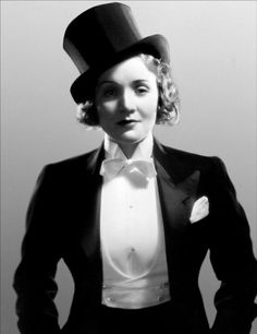 In the early 20th century it was Coco Chanel that famously pioneered menswear for women, but it was Yves Saint Laurent who transformed the tuxedo into a classic eveningwear alternative for ladies. Influenced by 1930's screen sirens Marlene Dietrech and Greta Garbo, in 1966 Saint Laurent created the first women's tuxedo, christening the now legendary garment 'Le Smoking'.