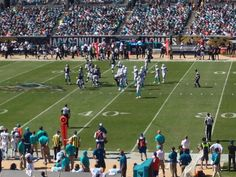Jags v Dolphins Game - local fans showed up!