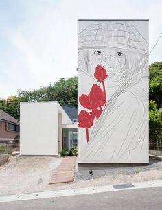 maria umievskaya adds ancient drawings to modern japanese homes - designboom | architecture