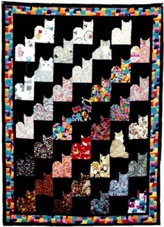 need to make this cat quilt for Katie