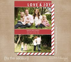 Photo Holiday Card Digital or Printed Tis the by inPRINTdesigns, $13.50