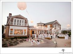 Santa Barbara beach house wedding.