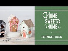 Home Sweet Home Stamp Set and Sweet Home Framelits Dies by Stampin' Up!