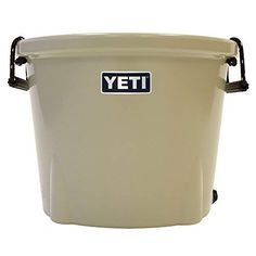 YETI Tank® 45 will keep your can or keg of beer icy cold. Tank 45 ice bucket is built using our same rotomolded design as our hard coolers. Polyurethane Foam Insulation, Bucket Cooler, Cooler Reviews, Beverage Tub, All In One, Design, Coolers, Construction, Army Police