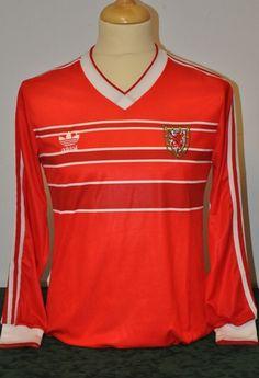 Robbie James Adidas Home 1987