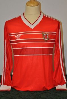 Robbie James Adidas Home 1987