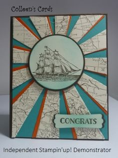 Starburst Thinlit and The Open Sea stamp set from Stampin up