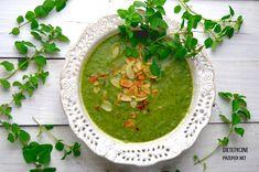 Niskokaloryczna zupa krem z brokułów i szpinaku | – Dietetyczne przepisy –