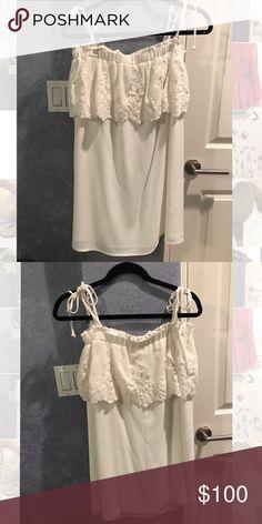 Stone Cold Fox dress Never worn, adjustable tie straps, size 3 Stone Cold Fox Dresses