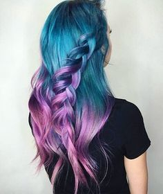 33 Cool Pastel Hair Color Ideas You'll Love - Page 13 of 34 - Colored Hair - Hair Designs Pastel Hair, Purple Hair, Ombre Hair, Purple Dye, Pastel Purple, Beautiful Hair Color, Cool Hair Color, Beautiful Mermaid, Hair Colour