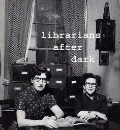 After dark : when booky girls gone wild / librarian after dark [http://www.flickr.com/photos/librariansafterdark/]