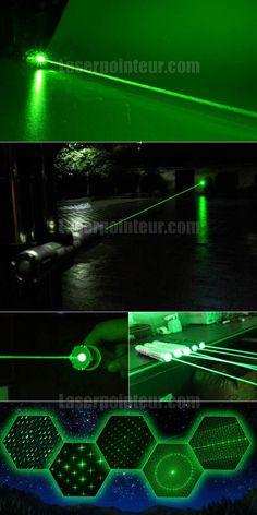 Pointeur laser vert 500mW portable pas cher   Pointeur Laser ...