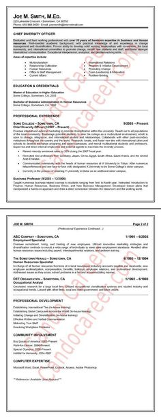 10 Teacher Job Search Mistakes Teacher, Higher education and - sample higher education resume