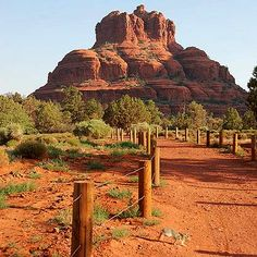 This is Bell Rock in Sedona, AZ.... one of the most beautiful & interesting places I've been....