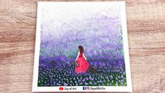 Field of Lavender   Easy Acrylic Painting for Beginners   Joy of Art #181 Acrylic Painting For Beginners, Simple Acrylic Paintings, Art Studios, Painting & Drawing, Tube, Lavender, Joy, Drawings, Glee
