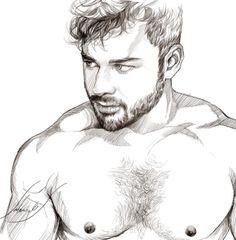 Sketch by Salem Beiruti